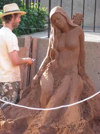 Sand-sculptor